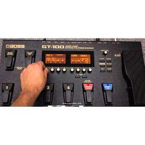 Manual Boss Gt100 / Gt 100 + De 2200 Patches + Software