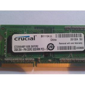 Memoria Ddr3 2gb 1333 12800 Para Laptop Nueva