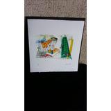 Grabado Moderno/decorativo-reconocida Artista-precio Excelen
