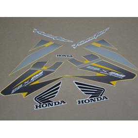 Kit Adesivos Honda Cbx Twister 250 2007 Amarela 10049