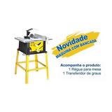 Serra Circular P/ Madeira Profis.de Bancada Preço Imbatível