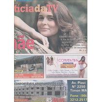 Jornal Noticia: Claudia Abreu / Bianca Rinaldi / Zan Viana