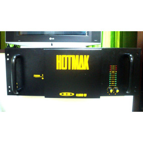 Amplificador De Potencia H- 4800w De Potencia Rms