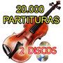 A Biblioteca Do Violino 20000 Partituras 2 Discos