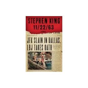 Stephen King - 11/22/63 - Livro Novo Em Inglês - Jfk Kennedy