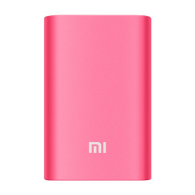Batería Externa Xiaomi Original Power Bank 10000 Mah Fucsia