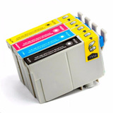 Kit 4 Cartucho To90 73n / To901 / Stylus C92 / Cx5600 Novo