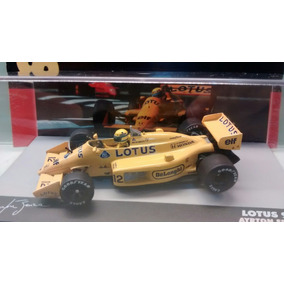 Lotus 99t Ayrton Senna Gp 1987 Escala 1:34