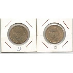 Usa - 1º Dolar Presidencial F/c - P & D - George Washinton