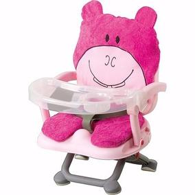 Cadeira De Refeição Portátil Rosa - Dican