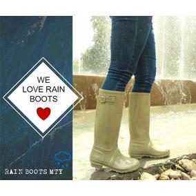 Botas Para Agua Lluvia - Dama Rain Boots Económicas