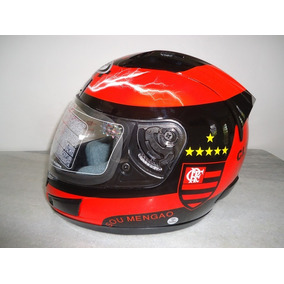 Capacete Flamengo Df2 Helmet 2017 Com Selo Do Inmetro Mengo
