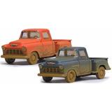 Auto De Colección 1955 Chevy Stepside Pick-up Muddy