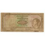 Billete De 100 Bolivares Junio 2 1964 Serial N° P1667285