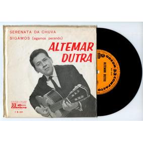 Lp Vinil -cs/64 Altemar Dutra - Sigamos / Serenata Da Chuva