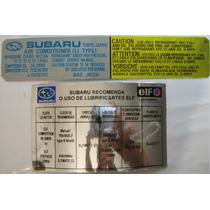 Subaru Adesivos Tecnicos Impreza Forester Tribeca Legac