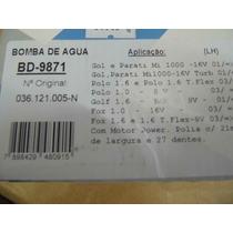 Bomba De Agua Gol Power 8v E 16v Polo Fox Golf 1.6