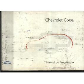 Manual Do Corsa 97 - Gm - General Motos - Bom Estado