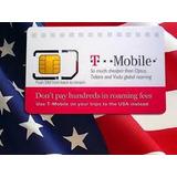 Sim Card Prepago Viajeos Usa Tmobile At&t