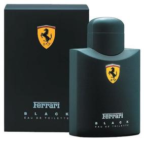 Perfume Ferrari Black 125ml Original Pronta Entrega