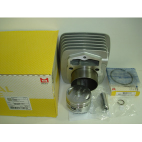 Kit Cilindro Pistao Aneis Xr200 Nx200 Cbx200 Metal Leve