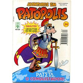 Aventuras Em Patópolis Nº 34 (seminovo 9.5)