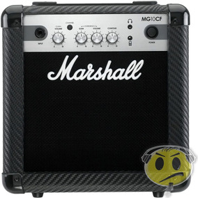 Cubo Amplificador Guitarra Marshall Mg10 Cf Mp3 2 Canais