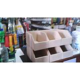 Caja Organizadoras En Mdf Fibro Fácil 10x15x30