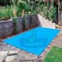 Capa Lona Azul Cobertura Piscina 500 Micras 5,5 X 3,5 M