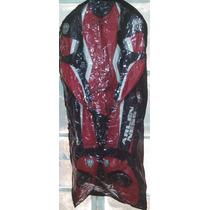 Macacao Arlen Ness Mdf 4292 Vermelho E Preto Bem Conservado