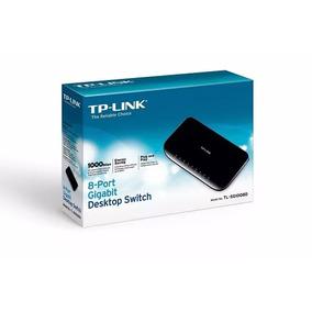 Hub Tp-link Tl-sg1008d Gigabit De Mesa De 8 Portas