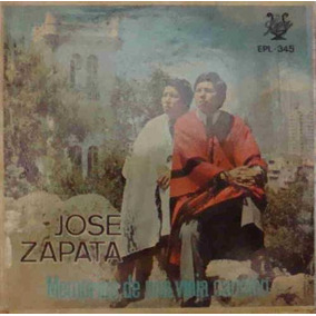 Jose Zapata Compacto Vinil Import Memorias De Una Vieja Canc