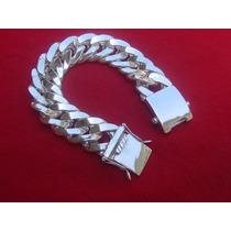Pulseira De Prata Maciça 950. 170gms. Direto Da Fabrica