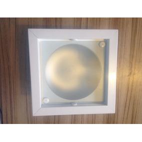 Spot Luminaria De Teto De Embutir Quadrada P/2 Lampadas