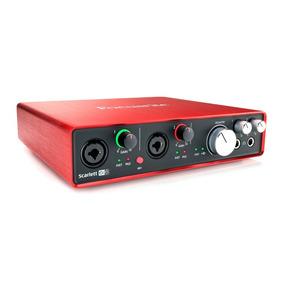 Interface P/ Gravação Focusrite Usb Scarlett 6i6 2a Geração