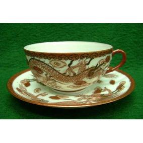 Porcelana Xicara Chá Antiga Japão Lindissima