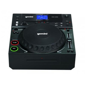 Cdj250 Gemini Dj Cd Mp3 Tabletop Bivolt Cdj 250 Na Cp Music