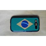 Case Capinha Bandeira Do Brasil Samsung Galaxy S3 Gt-i9300