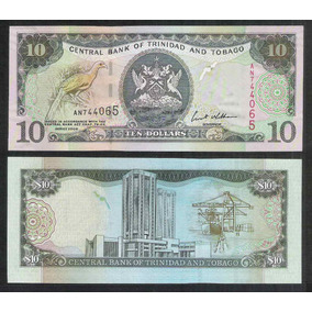 Trinidad And Tobago, 10 Dollars, 2002, Fe. P.43