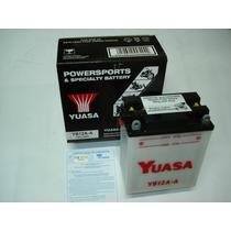 Bateria Yuasa Yb12a-a Cb400-450 Cbr450 Cb360-400-500-550four