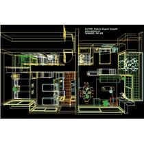 Bibliocad Planos Casas Autocad 3d Renders Dwg 3ds Max Dxf
