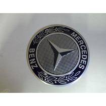 Emblema Adesivo Merceedes Para Rodas Esportivas 55mm