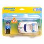 Playmobil 6797 - Auto De Policia Linea 1-2-3 Villa Urquiza