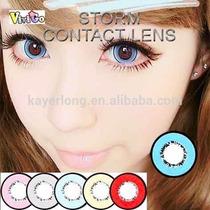 Olhos Cosplay - Circle Lens Azul 17mm - Pronta Entrega !!
