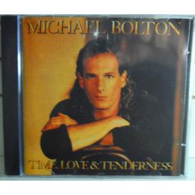 Rock Funk Soul Pop Cd Michael Bolton Time Love & Tenderness