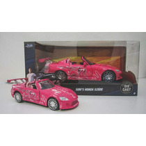 Rapido Y Furioso Sukis Honda S2000 Rosa Jada 1:24 Lyly Toys