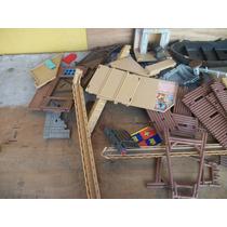 Tm.playmobil Lote Mixto Piramide/fuerte Del Oeste & More