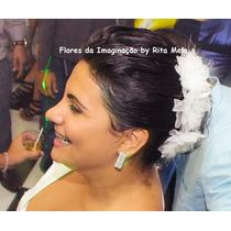 Flores Tecido Noiva Debutante Madrinha Dama Acessório Oferta