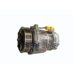 Compressor Ar Sanden Citroen Peugeot 8 Orelhas 9655421780