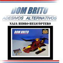 Adesivos Para O Naja Hidro-helicóptero Comandos Em Ação